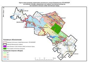 Карта обходы Калининский