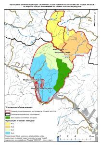 Обходы и зоны Пшада